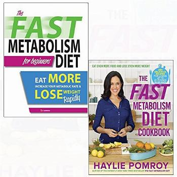 Fast metabolism diet cookbook [harcover] 2 books collection