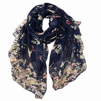 GERINLY Fashion Scarfs for Women Spring Lightweight Large