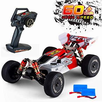 Remote Control Car,60+ KMH 1:14 Scale WLtoys 144001 Fast RC